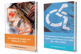 COID and OHSA Booklet - Copies of the Occupational Health and Safety Act and COID Act