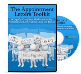 Appointment Letters Toolkit - 68 health and safety appointment letters