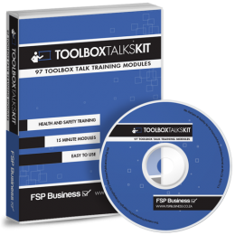 Toolbox Talks Kit - 97 health and safety training modules
