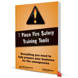 7 Piece Fire Safety Training Toolkit - Everything you need to prepare your employee for fire emergencies