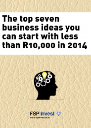 Top Seven Business Ideas