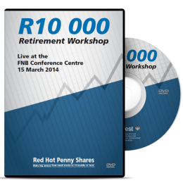 R10 000 Retirement Blueprint Workshop DVD