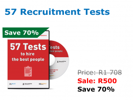 57 Recruitment Tests