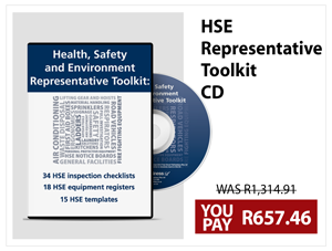Health and Safety Environment Rep Toolkit