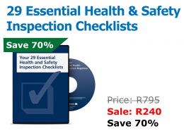 29 Essential Health and Safety Inspection Checklists