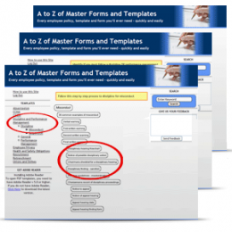 A to Z of Master Forms and Templates - Every employee form, policy and sample you'll ever need