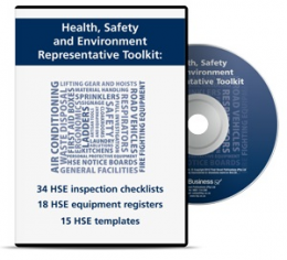 Health and Safety Environment Rep Toolkit - Health and Safety Environment Representative Toolkit