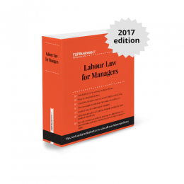 Labour Law for Managers Print Loose Leaf Service