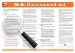 The Skills Development Act Wall Chart