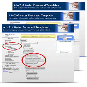 human resources form templates