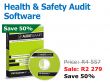 Audit Smart Software - to audit your OHS Act compliance and 19 health and safety regulations