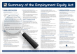 The Employment Equity Act - The Employment Equity Act Wall Charts