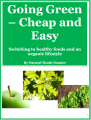 Going Green - Cheap and Easy